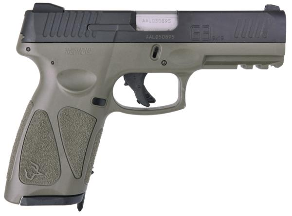 TAURUS G3 9MM OD GREEN