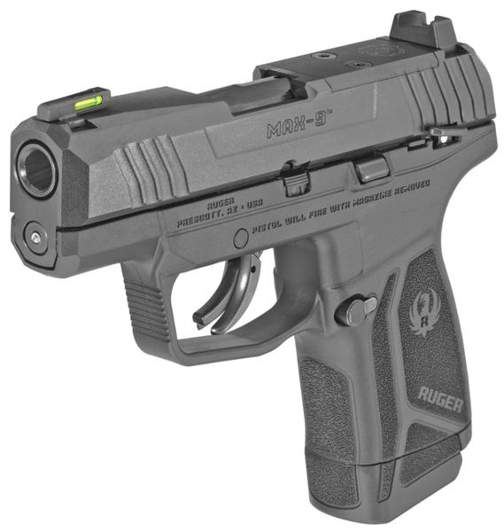 Ruger Max-9 Optic Ready 9mm 3.20