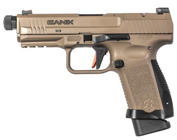canik tp9 elite combat 9mm tb 18+1 fde