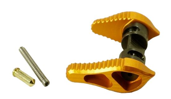 TIMBER CREEK AR15 AMBIDEXTROUS Safety Selector 45/90 Degree ORANGE