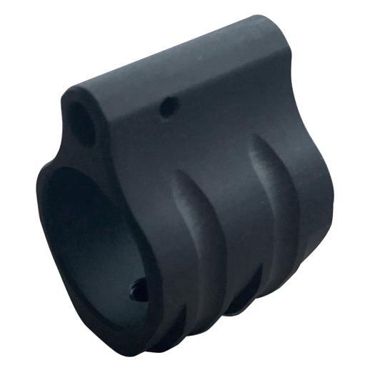 TIMBER CREEK LOW PROFILE GAS BLOCK .750 DIAMETER BLACK