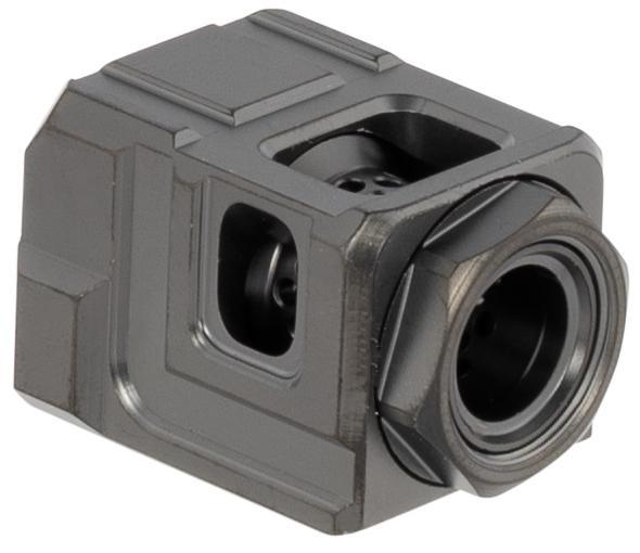 Cgs Qube Compensator Black glock 19