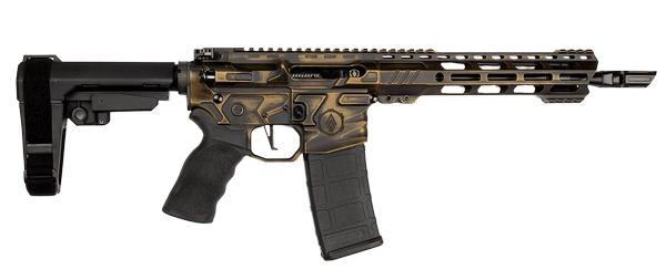3rd gen tactical ultralight combat pistol battleworn bronze
