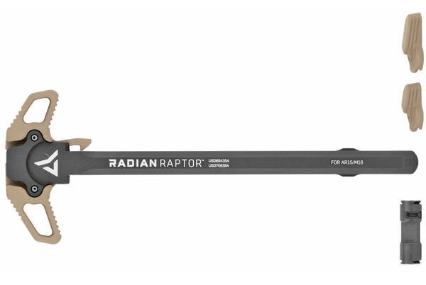 RADIAN Weapons Raptor Charging Handle w/Talon Safety AR-15 fde