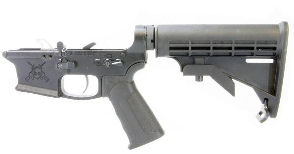 KE ARMS KE-9 COMPLETE LOWER WITH MATCH TRIGGER AND AMBI MAG RELEASE