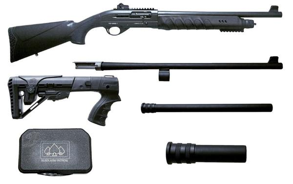 BLACK ACES TACTICAL PRO SERIES X12 GA semi auto combo pack