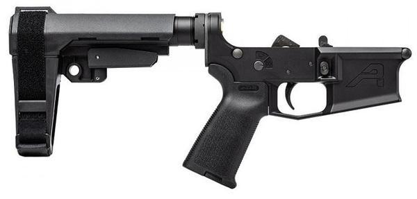 aero m4e1 complete pistol lower w/sba3 brace