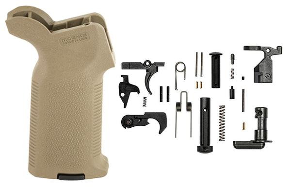 aero epc moe-k2 lower parts kit fde