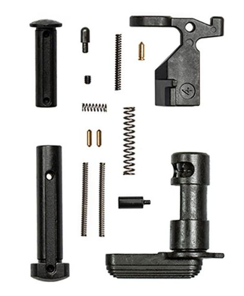 aero precision epc lower parts kit minus fcg/grip