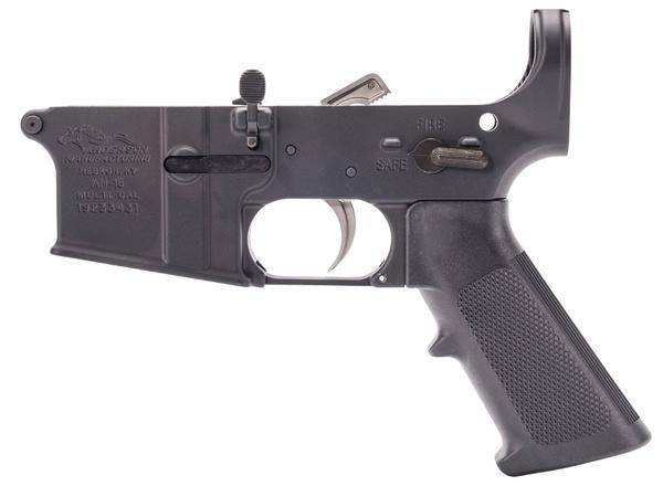 anderson am-15 partially assembled lower receiver