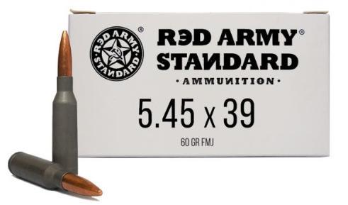red army standard 5.45x39 fmj 60 gr 20rd