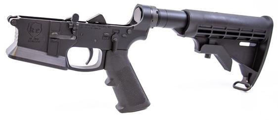 ke arms ke-15 billet flared magwell complete ar15 lower receiver