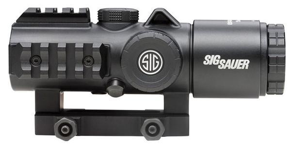 Sig Sauer Bravo5 5x 30mm Illuminated Horseshoe Dot 5.56/7.62 Black