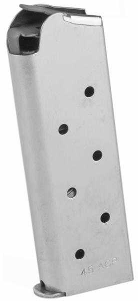 colt 1911 officer magazine 45acp 7 rounds