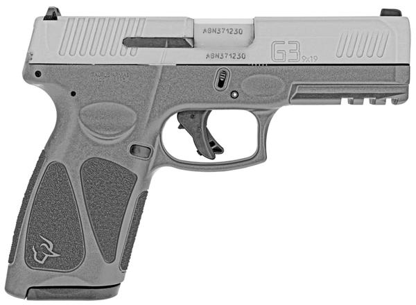taurus g3 9mm grey frame stainless slide