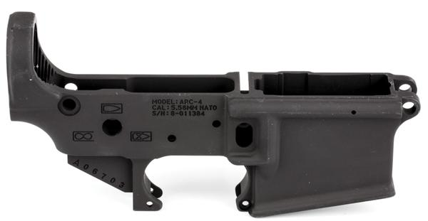 KDG Enhanced AR-15 Forged Stripped Lower Receiver