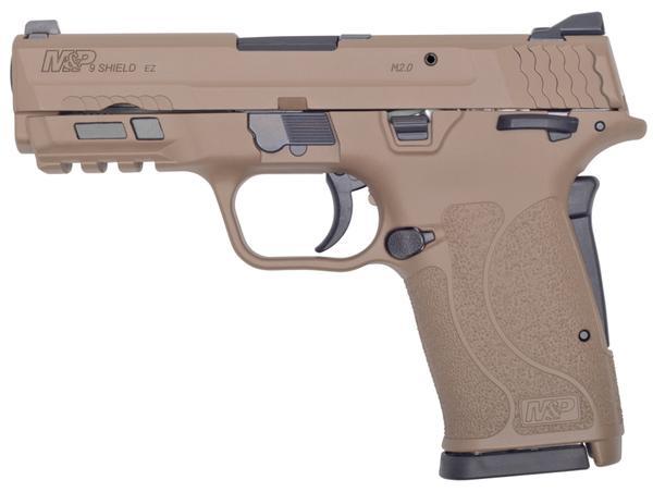 smith & wesson m&p shield ez 2.0 9mm fde