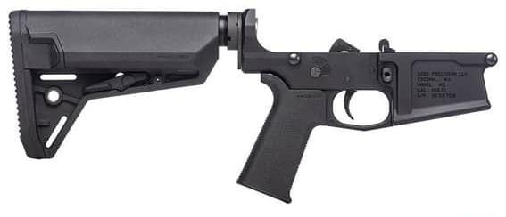 Aero Precision M5 Complete Lower Receiver w/MOE SL Grip & SL-S Carbine Stock