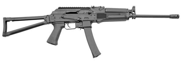 kalashnikov kr-9 9mm side folding stock