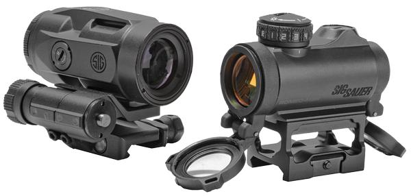 Sig Sauer ROMEO-MSR 1x20mm Compact Red Dot/3x22mm Micro Magnifier Combo Kit