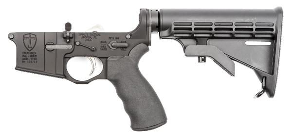 SPIKE'S TACTICAL ST-15 CRUSADER COMPLETE LOWER ENHANCED M4 STOCK
