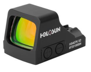 HOLOSUN HS407K-X2 RED DOT 6MOA
