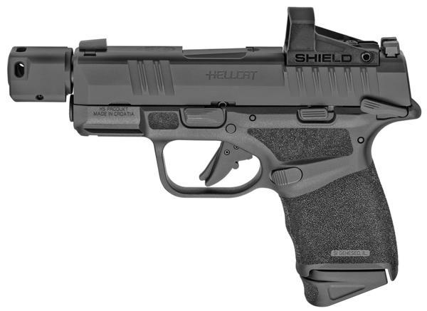 springfield armory hellcat rdp 9mm ms w/shield red dot