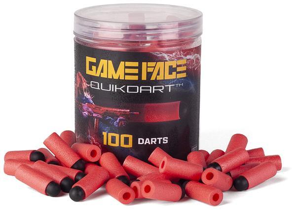 GAME FACE PRIME QUICK PRIME DARTS RED