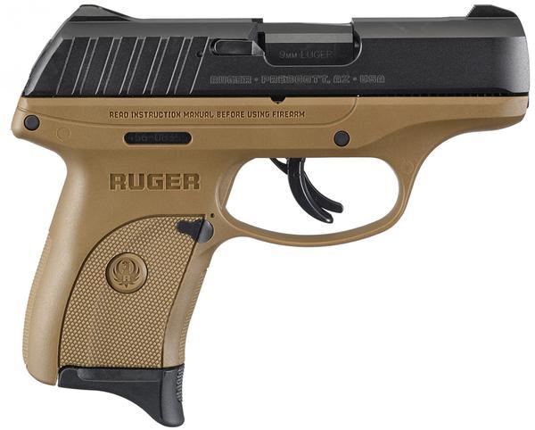 ruger ec9s 9mm fde frame