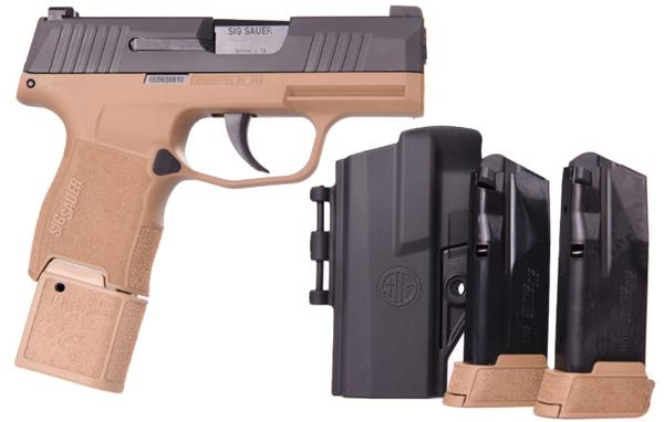 sig sauer p365 9mm coyote tacpac