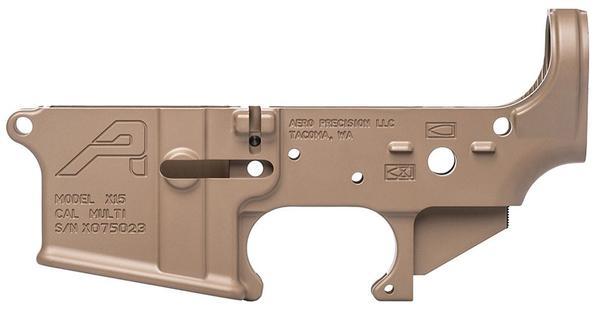 Aero Precision AR-15 X15 Stripped Lower Receiver Gen2 FDE