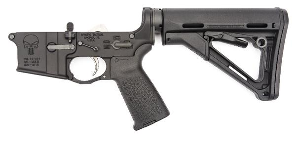spikes tactical st15 punisher complete lower enhanced m4 stock