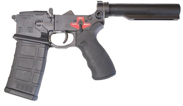FRANKLIN ARMORY LIBERTAS BILLET LOWER RECEIVER WITH BINARY TRIGGER